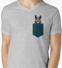 Kellan - Australian Cattle dog gifts and gifts for cattle dog owners dog gifts for a dog person Men's V-Neck T-Shirt