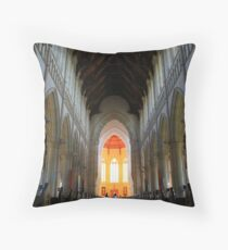 Bendigo's Sacred Heart Cathedral. Throw Pillow