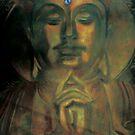Buddha- arcylic  by wingyinchan