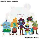 character design - Alien by wingyinchan