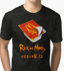 Rick and Morty - Szechuan Sauce Tri-blend T-Shirt