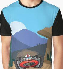 VROOOOM! RaceCar Graphic T-Shirt
