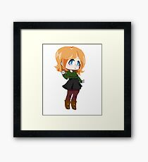 Chibi 2  Framed Print