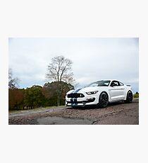 Lámina fotográfica Ford Mustang Shelby GT350