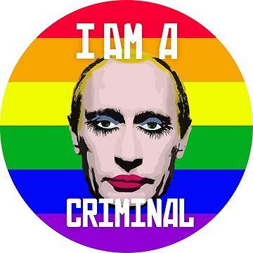 Putin Gay Clown by MarcoD