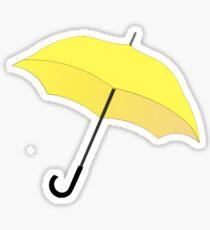 HIMYM Yellow Umbrella Sticker