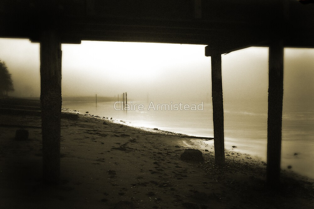 Misty water by Claire Armistead