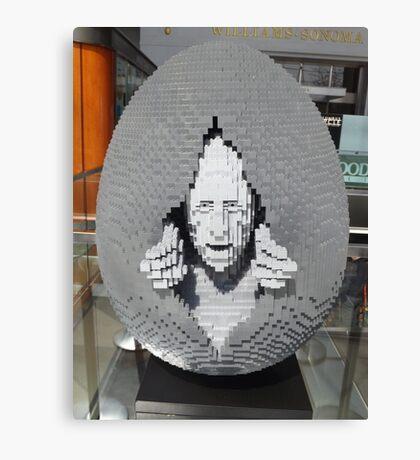 Lego Easter Egg, Nathan Sawaya, Artist, Faberge Big Egg Hunt, New York City Canvas Print