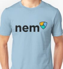 NEM Logo (with Text) (XEM) Unisex T-Shirt