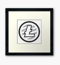 Litecoin Logo (LTC) Framed Print
