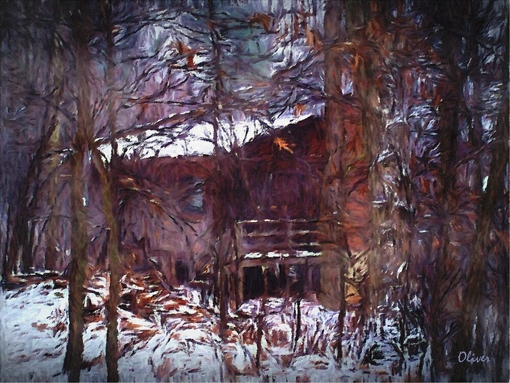 The Old Cabin by Charles Oliver