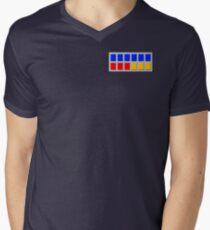 Imperial Rank Insignia Plaque Men's V-Neck T-Shirt