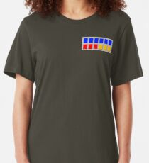 Imperial Rank Insignia Plaque Slim Fit T-Shirt