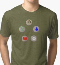 Runescape The Gathering Tri-blend T-Shirt