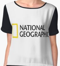 NATIONAL GEOGRAPHIC Women's Chiffon Top