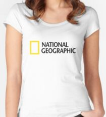 NATIONAL GEOGRAPHIC Women's Fitted Scoop T-Shirt