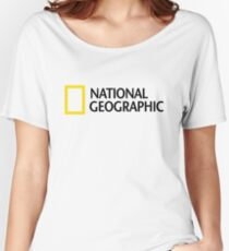 NATIONAL GEOGRAPHIC Women's Relaxed Fit T-Shirt