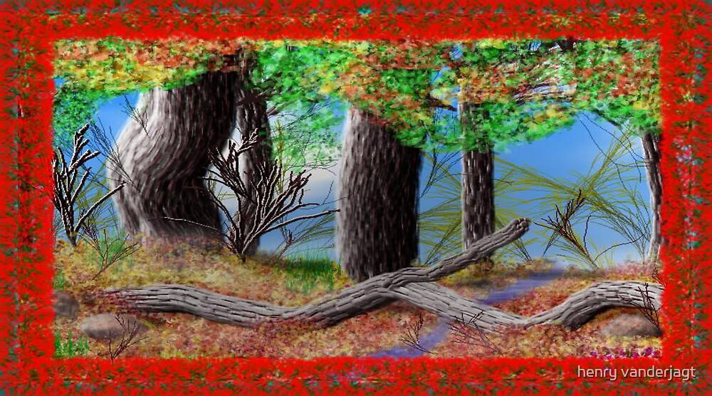 ANGEL FORIST RED by Henry VanderJagt
