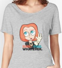 Sure. Fine. Whatever. Scully. Women's Relaxed Fit T-Shirt