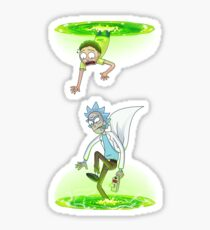 Rick and Morty (Portals) Sticker