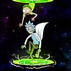 Rick and Morty (Portals) by Death Taffy