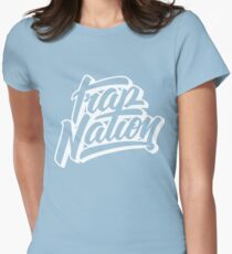 trap nation Womens Fitted T-Shirt