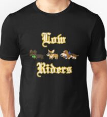 Low Riders Club - Olde English (Dachshund, Corgi, Basset Hound)  Unisex T-Shirt
