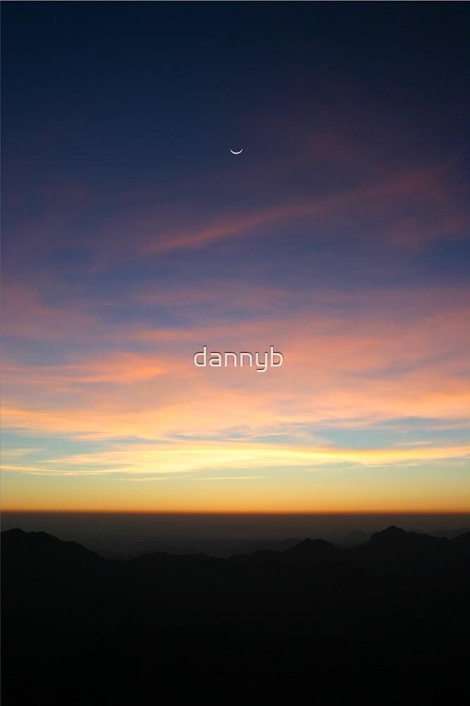 Sunrise at Sinai by dannyb