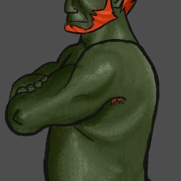 Ganondorf in a Towel by Stephenmcph