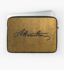 Hamilton Plain Signature  Laptop Sleeve