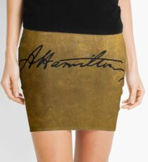 Hamilton Plain Signature  Mini Skirt