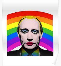 Póster Vladimir Putin Payaso Gay