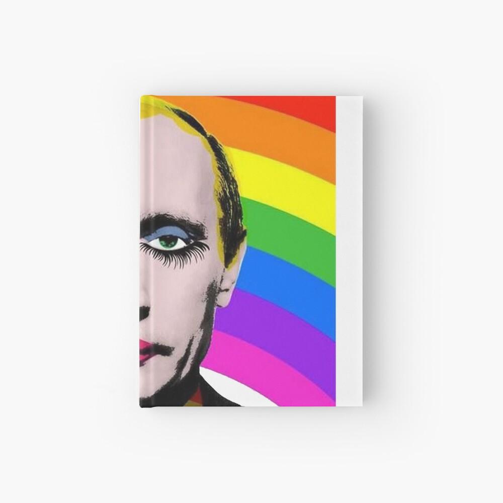 Vladimir Putin Payaso Gay Cuaderno de tapa dura