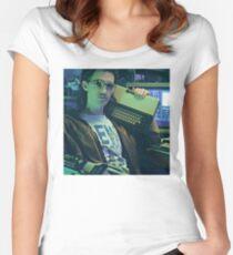 Retro Hackerman Women's Fitted Scoop T-Shirt
