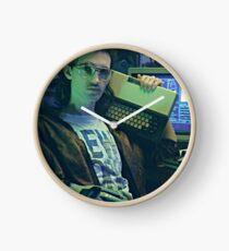 Retro Hackerman Clock