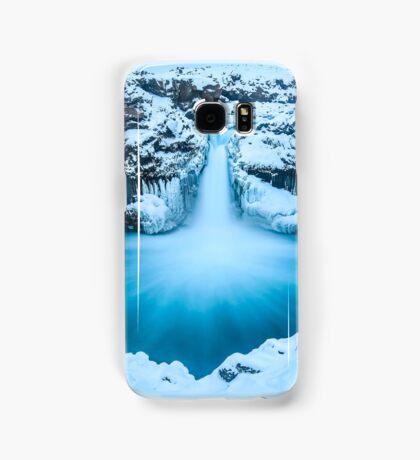 Winter Waterfall Samsung Galaxy Case/Skin