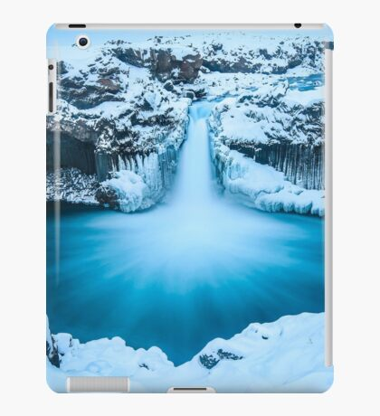 Winter Waterfall iPad Case/Skin