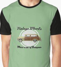 Vintage Wheels: Mercury Wagon Graphic T-Shirt