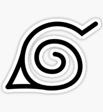 Naruto Hidden Leaf Logo Sticker