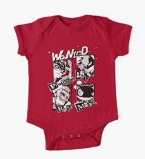Persona 5 Wanted Posters One Piece - Short Sleeve
