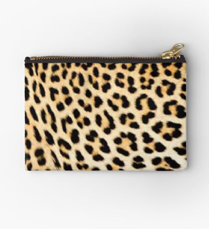 Lodge décor - Cheetah print Zipper Pouch