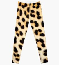Lodge décor - Cheetah print Leggings