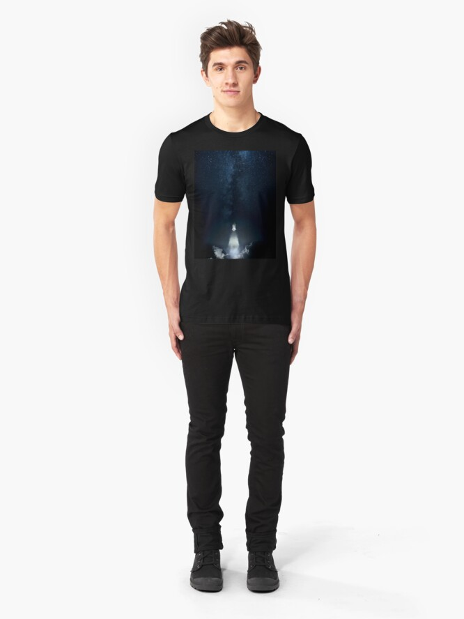 Alternate view of Into Space Slim Fit T-Shirt
