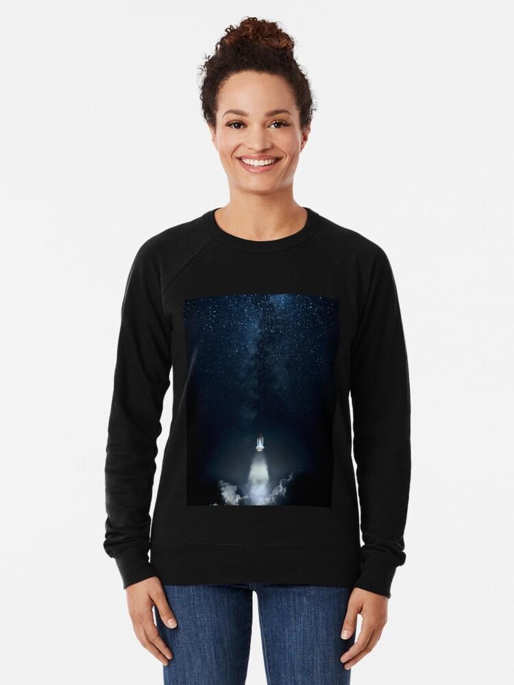 Alternate view of Into Space Lightweight Sweatshirt