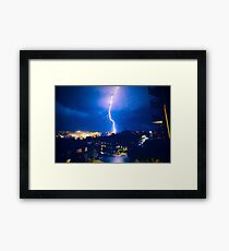 Bondi Bolt Framed Print