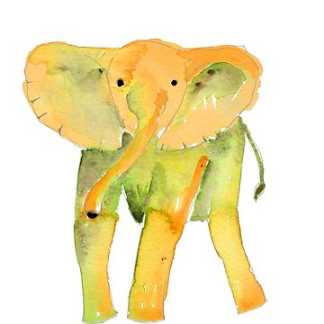 Standing Elephant by elee