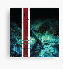 Mass Effect Tribute Armor Stripe Canvas Print