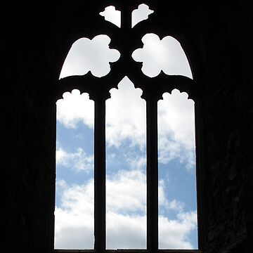 Clouds Through a Window by ethna
