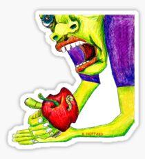 Adams Apple Sticker