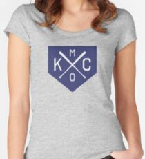 KC X HOME Women's Fitted Scoop T-Shirt